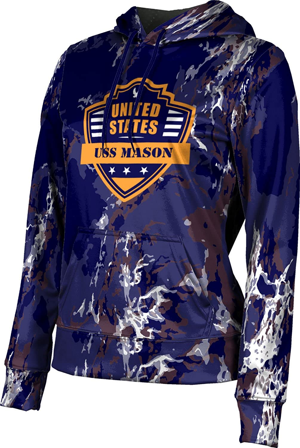 ProSphere Women's USS Mason Military Marble Pullover Hoodie