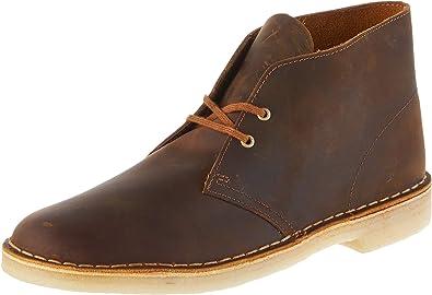 Independientemente Moda elegante  Amazon.com | Clarks ORIGINALS Desert Boot Mens Chukka Boots Beeswax - 7 UK  | Chukka
