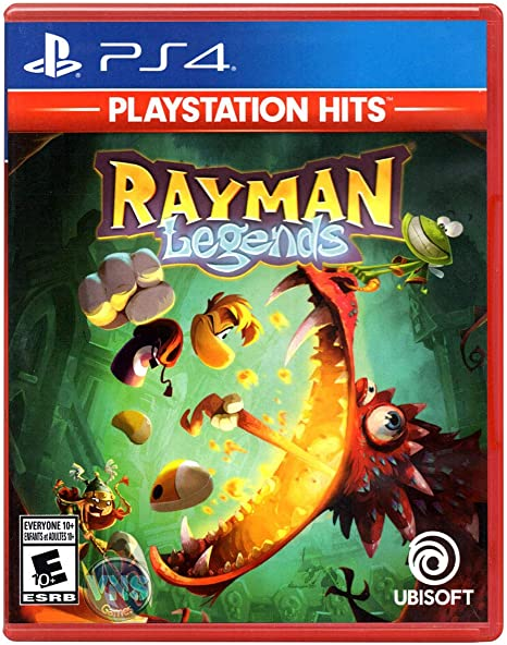 Ubisoft Rayman Legends - Juego (PlayStation 4, Plataforma, E10 + ...