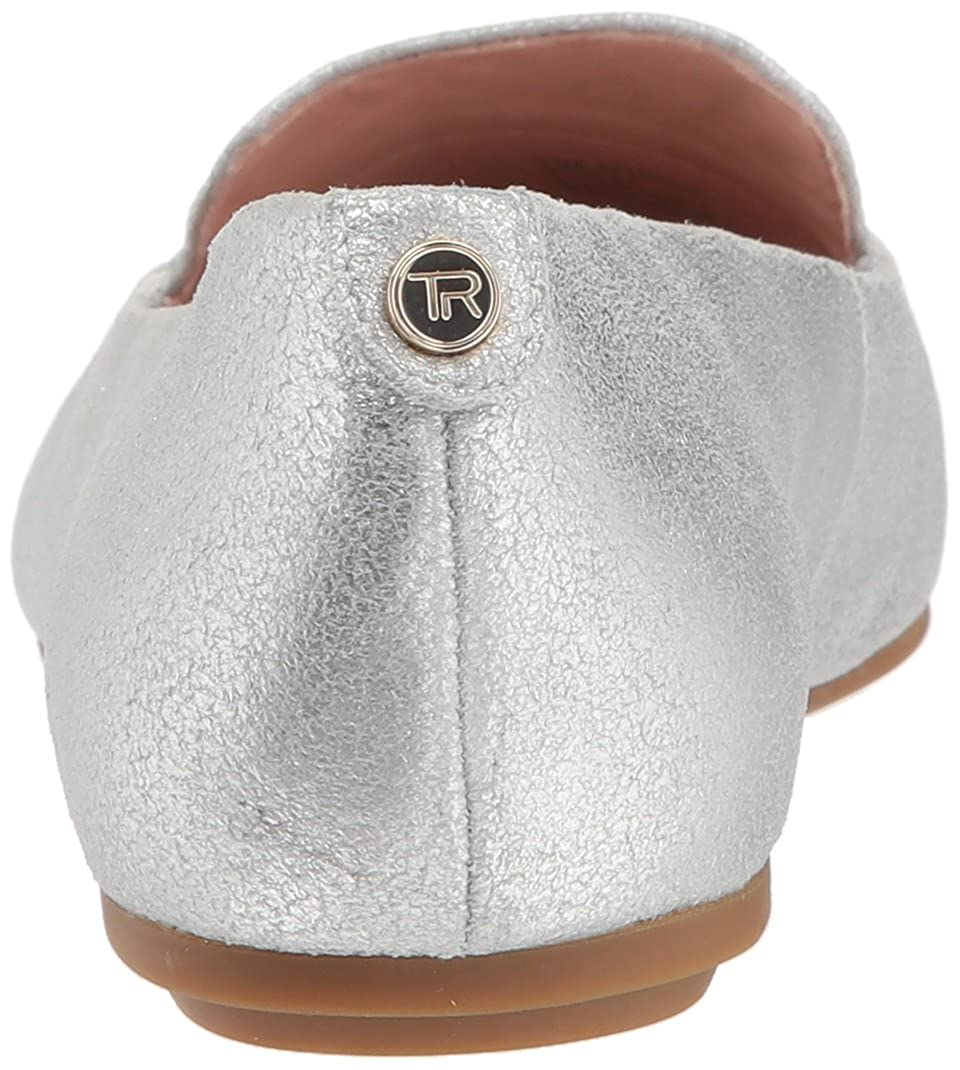 49c0d1ff716 Amazon.com  Taryn Rose Women s Faye Shimmer Metallic Loafer Flat  Shoes
