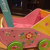 Amazoncom Dushi Doll Stroller Pretty Flowers Baby Doll Toys Games