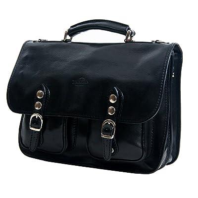 Timmari Vine Collection Italian Leather Messenger Bag free shipping