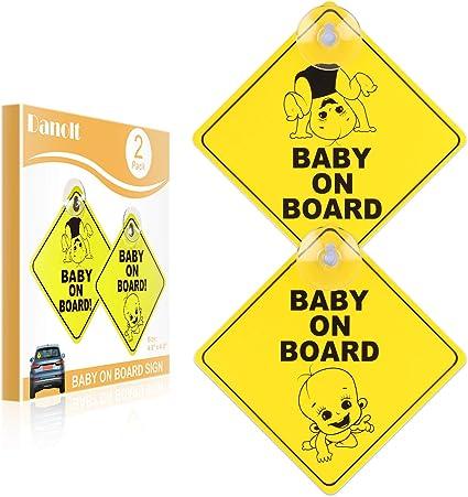 Signe bébé à Bord de Voiture