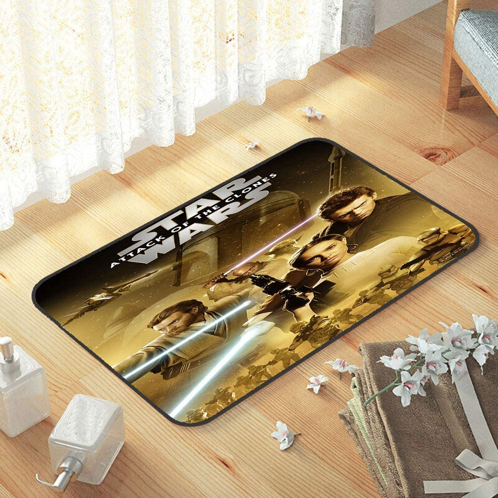 lacencn S-Tar-Wars Sofa Area Rug Soft Comfy Area Rugs Indoor/Outdoor Welcome Door Mat Colorful, Durable, Anti-Slip for New Home,Easy Care W29 x L39