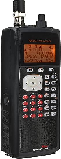 Whistler WS1040 Digital Handheld Scanner Radio