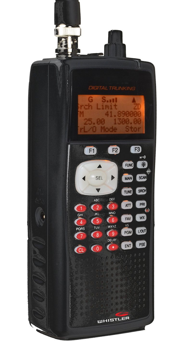 Whistler WS1040 Handheld Digital Scanner Radio