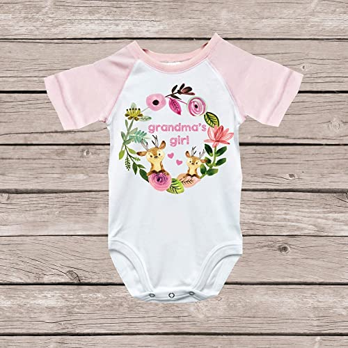 d5e33da74 Image Unavailable. Image not available for. Color: Grandma Onesie Granny  Nana Grandma's Girl Shirt
