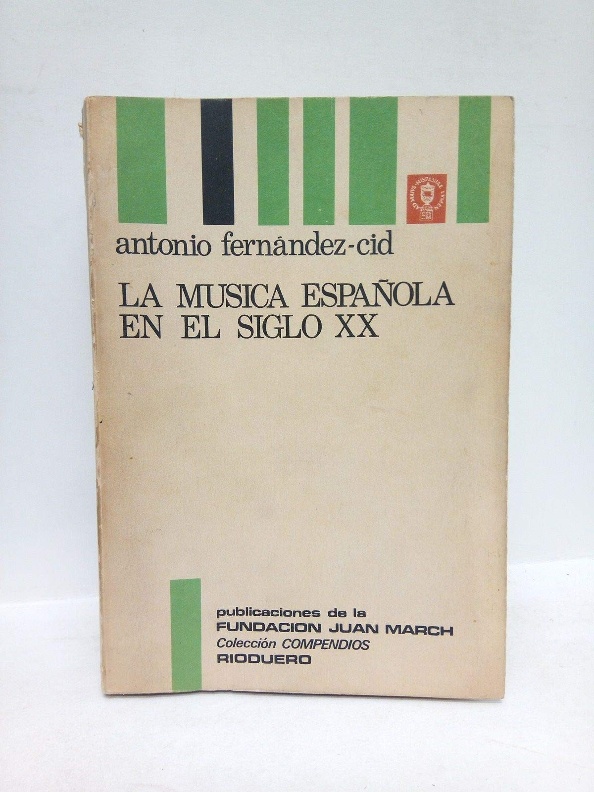 Musica española en el siglo XX, la: Amazon.es: Fernandez Cid De Termes, Antonio: Libros