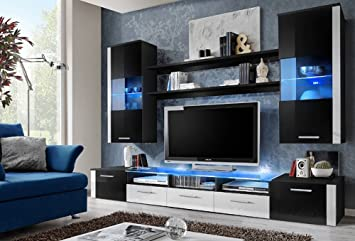 FRESH Modern Wall Unit / Entertainment Centre / Spacious And Elegant  Furniture / Tv Cabinets / Part 81