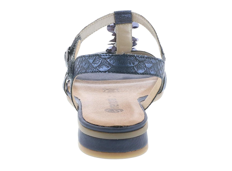 Femme Lanières confortable R9056 À Sandale D'été Remonte chaussures plat Rc435jLqAS