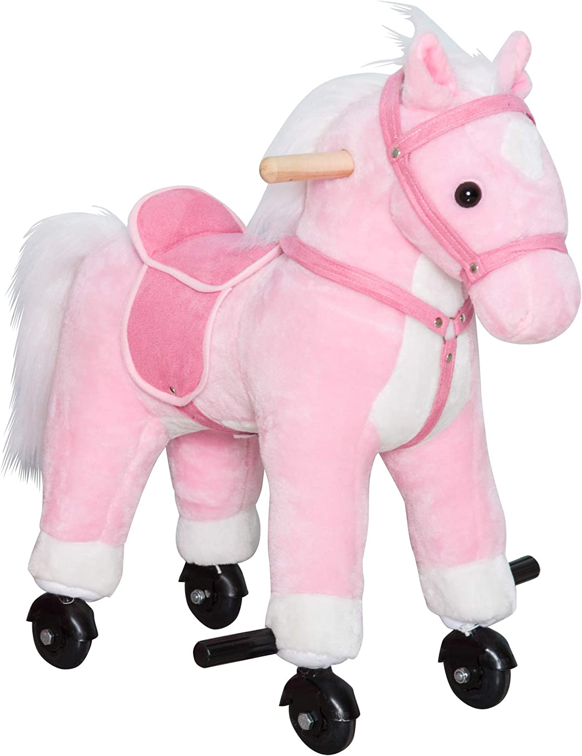"""7/"""" Musical Galloping Action Sound Western Horses Kids Toys Random Color 1PC"""