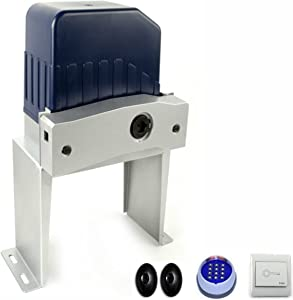 ALEKO AC1400ACC Chain Driven Sliding Gate Opener and Accessory Kit for Gates up to 50 Feet Long 1400 Pounds