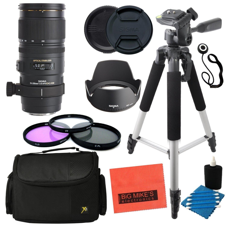 シグマ70 – 200 mm f / 2.8 apo EX DG HSM OS FLD望遠ズームレンズfor CanonデジタルSLRカメラ – 高度なキット   B019FX69IE