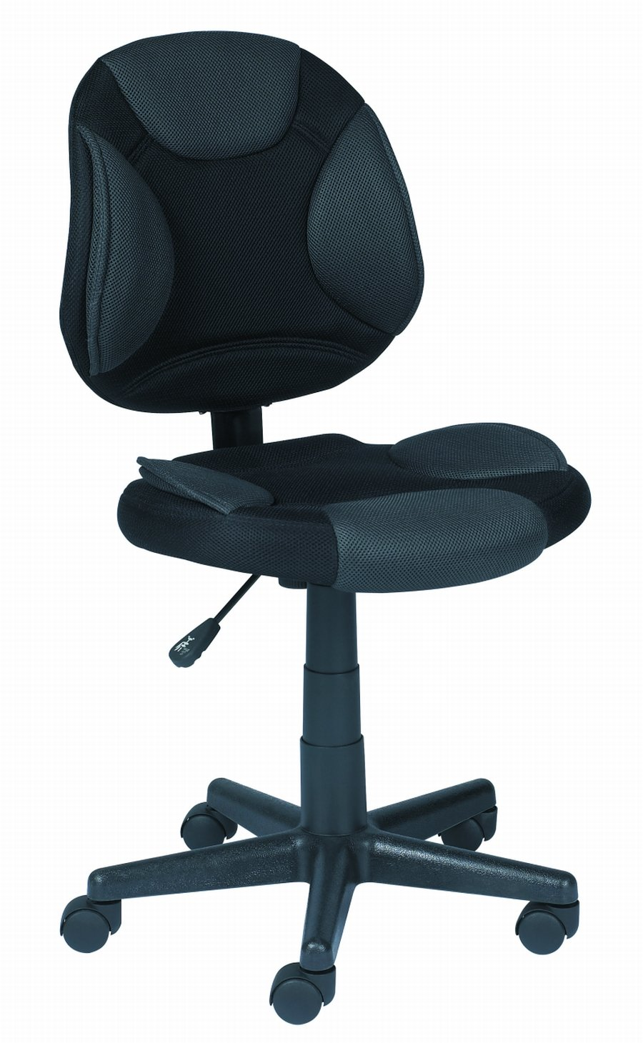 Task Chair W/Black/Grey Fabric Lumbar Support Memory Foam Z Line Designs ZL1001-01TCU Monitor Accessories