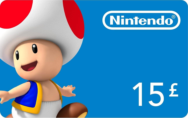 Nintendo eShop £15 card (Nintendo 3DS/DS/Wii/Wii U): Amazon.co.uk ...