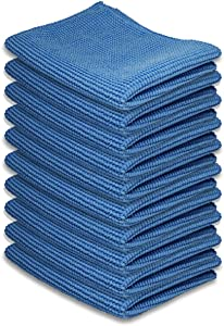 "AAwipes Cleaning Cloth Microfiber for Kitchen,Tablets, Laptops, PD, Phones, Silverware, Watches, Glasses, Countertop, or Any Other Delicate Surfaces (6""x 7"", 10 Pack)"