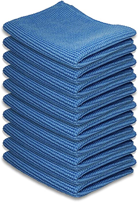 """AAwipes Cleaning Cloth Microfiber for Kitchen,Tablets, Laptops, PD, Phones, Silverware, Watches, Glasses, Countertop, or Any Other Delicate Surfaces (6""""x 7"""", 10 Pack)"""