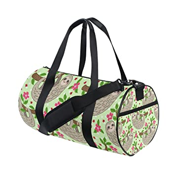 Amazon.com | Cute Cartoon Sloth Duffle Bag