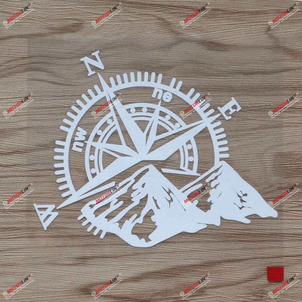 15 2 Cm Weißer Aufkleber Für Geländewagen Kompass Mountainbike Vinyl Passend Für Chevy Jeep Ford Küche Haushalt