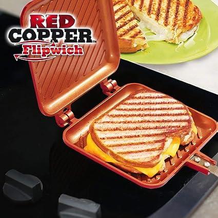 Flip Grill Spatule en Silicone Griller et r/ôtir en Un Tour de Main Po/êle 16x15cm Tous Feux Dont Induction pour Toaster
