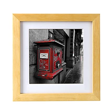 Amazon.com - BOJIN 8x8 Inch Picture Frames Holds 6x6 Inch With Mat ...