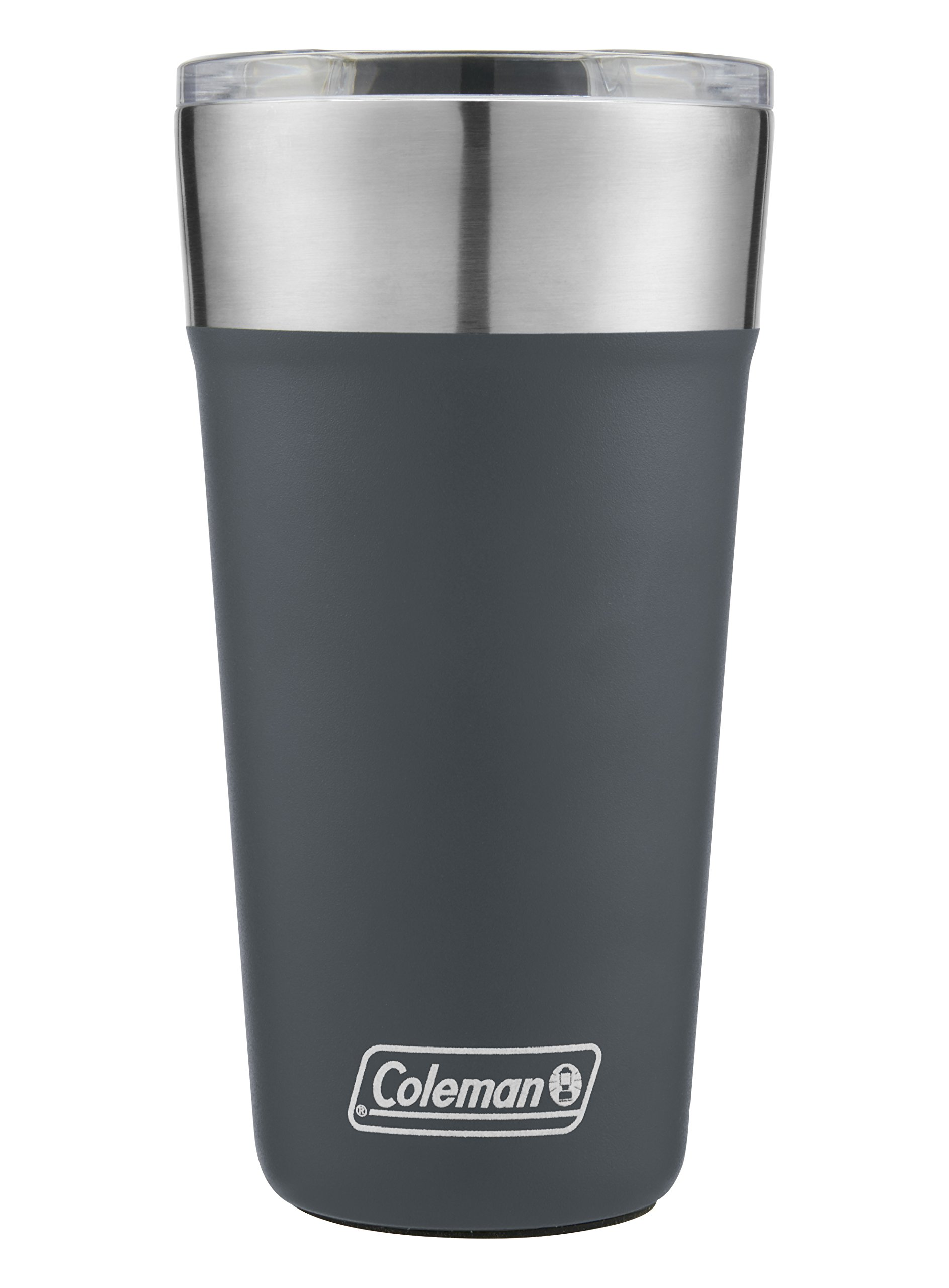 Coleman Brew Insulated Stainless Steel Tumbler, Slate, 20 oz.