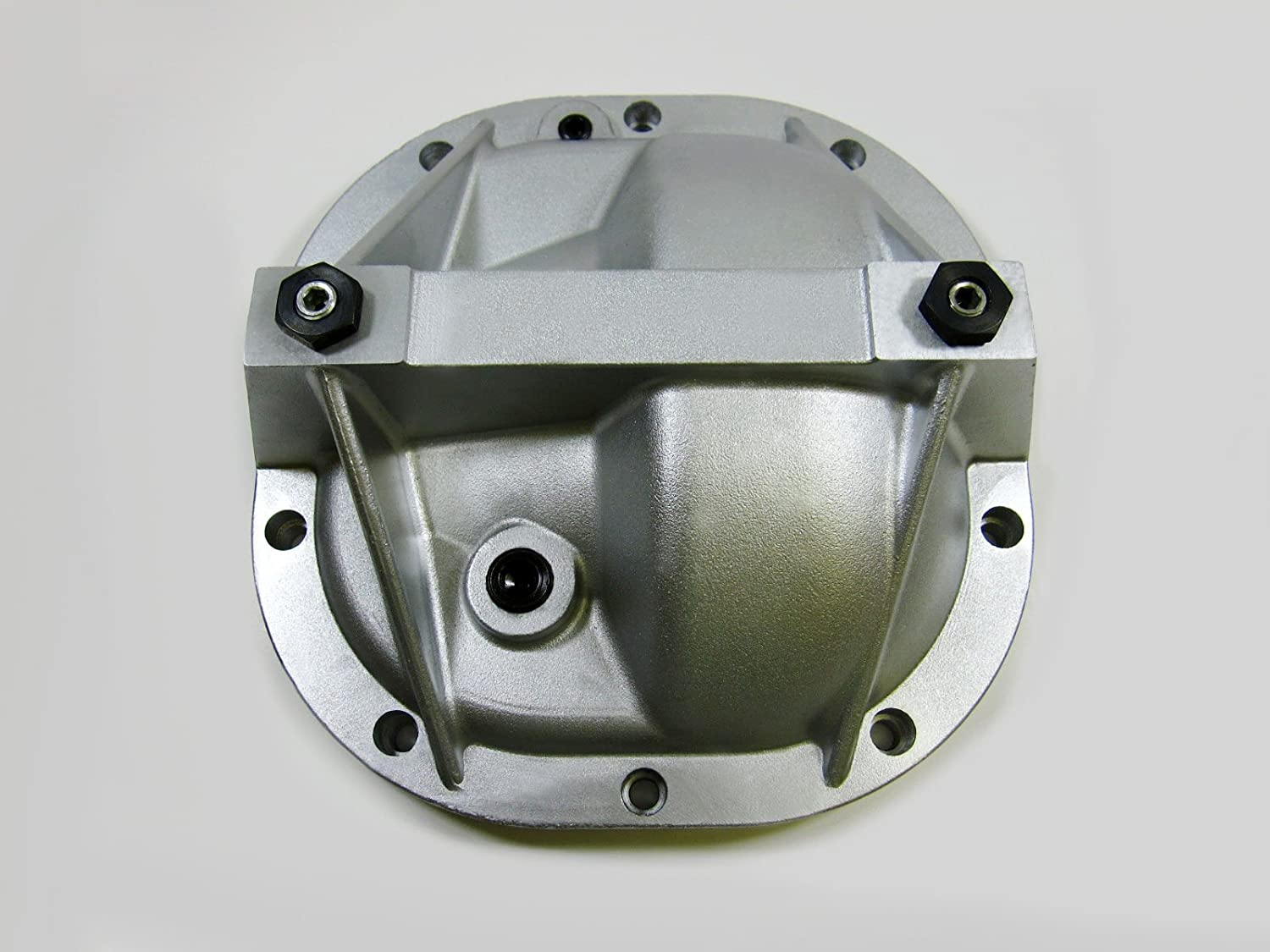 Amazon com 8 8 ford mustang aluminum differential cover rear end girdle system premium quality silver automotive