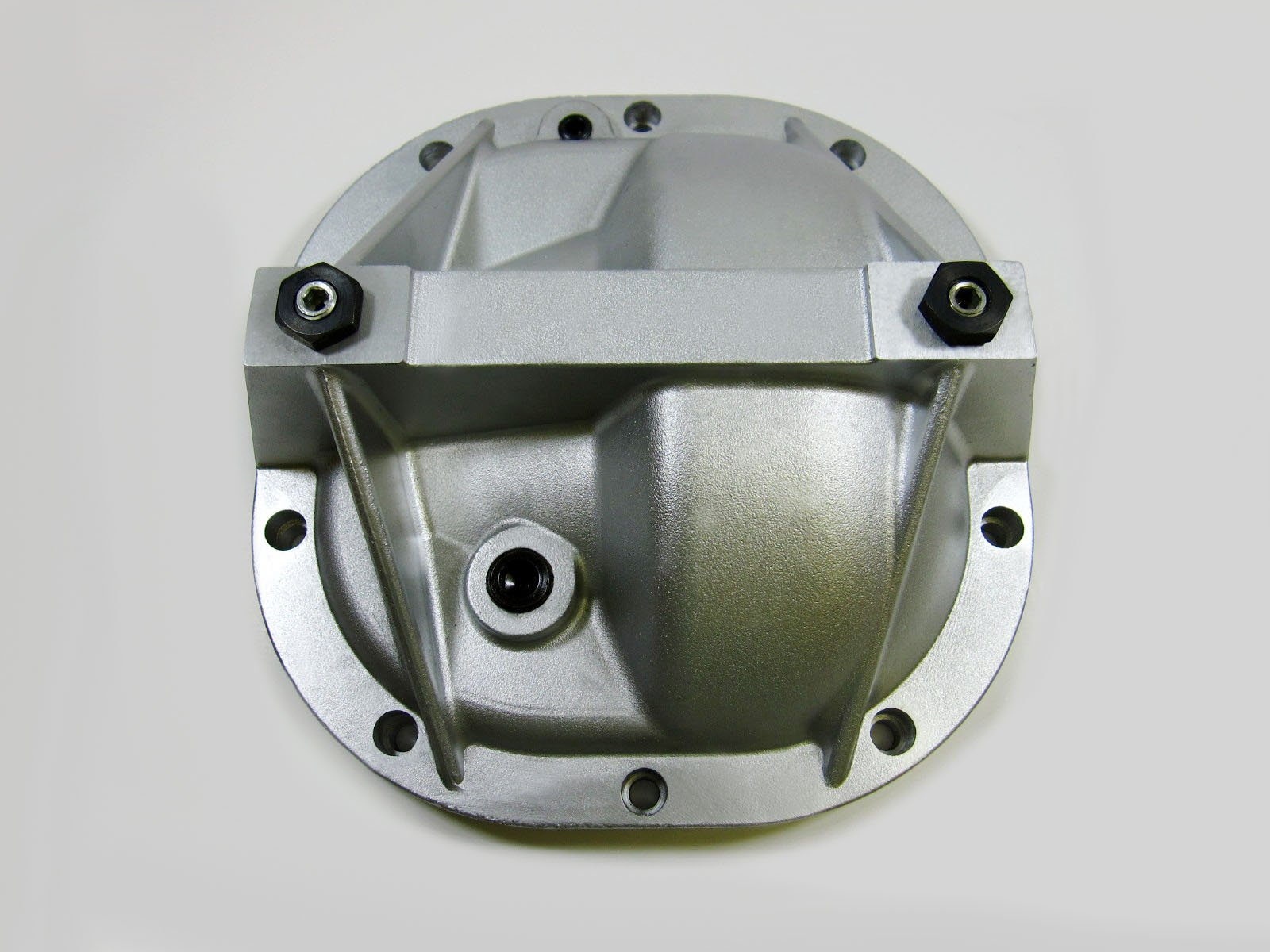 8.8 Aluminum Differential Cover Rear End Girdle System For Ford Mustang Premium Quality - Silver Finish