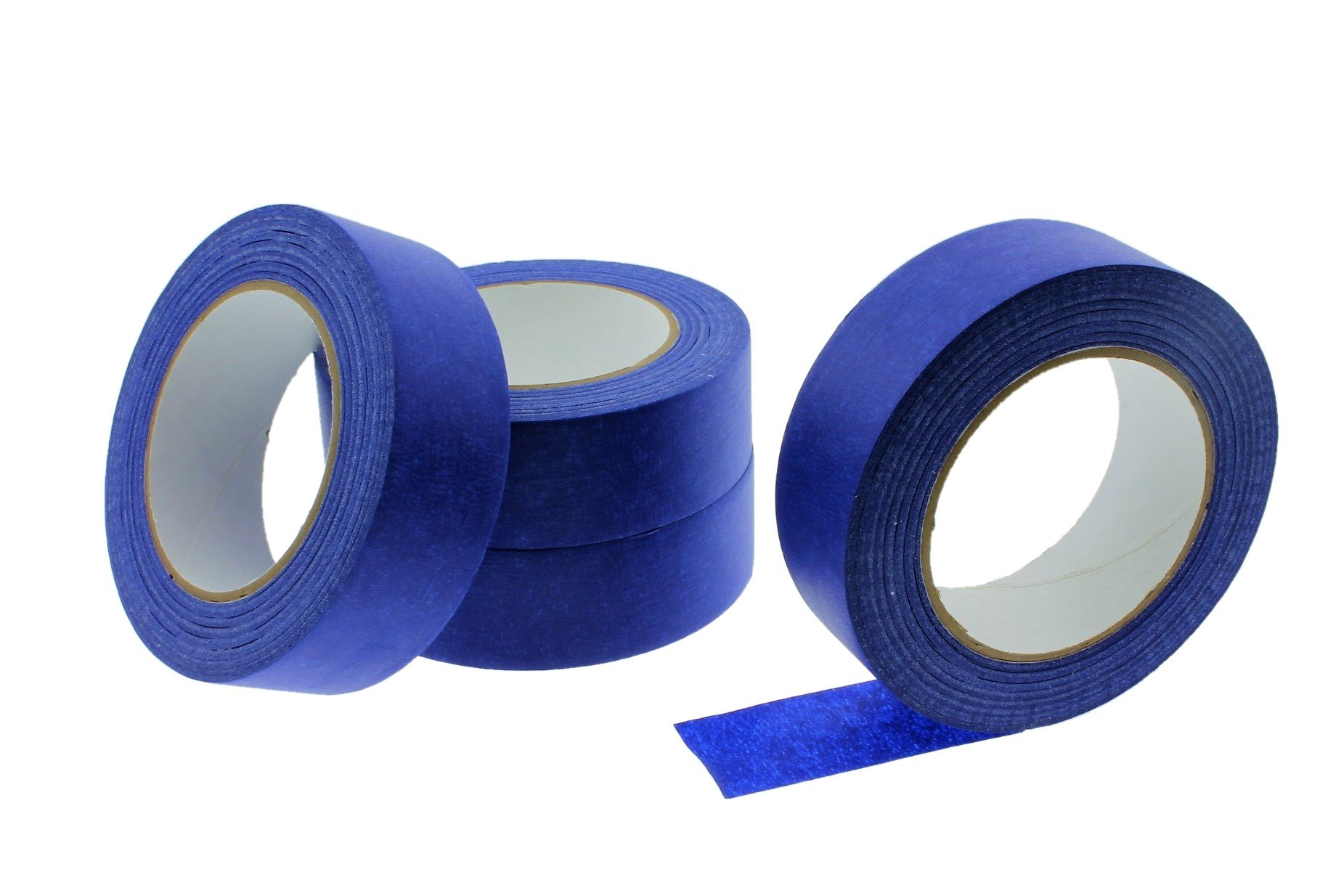 4pk 1.5'' in x 60 yd Blue Painters Tape PROFESSIONAL Grade Masking Edge Trim Easy Removal (36MM 1.41 inch)