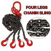 Cadena colgante, cadena de tope, 4 cuerdas, 8