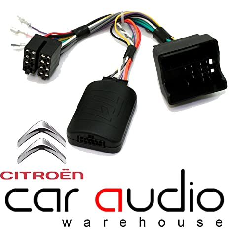 T1 Audio T1-CT3 - Adaptador de Interfaz de Control de Volante para Citroen C2