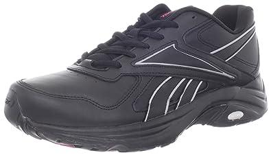 Reebok Women's DMX Max Mania Walking Shoe,BlackTin GreyCosmic Berry,