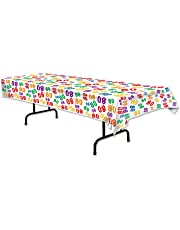 Beistle 80 Tablecover, 54-Inch x 108-Inch