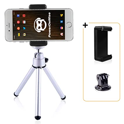 outlet store ae5cf 06f2b Amazon.com : Cell Phone Tripod - Mini Tripod for iPhone X 8 7 6 ...