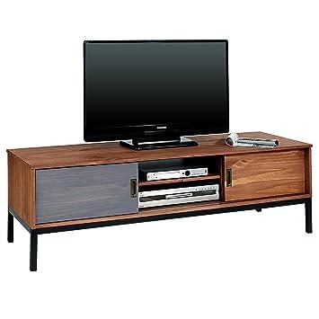 IDIMEX Lowboard TV Möbel SELMA, Fernsehtisch Fernsehschrank im ...