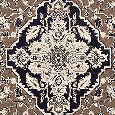 "Superior Elegant Glendale Collection Area Rug, Brown, 2' 3"" x 8' Runner"