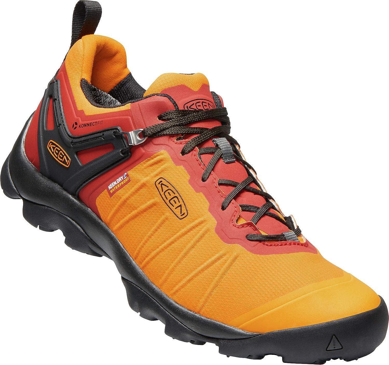 Orange 44.5 EU KEEN Venture WP - Chaussures Homme - Orange Rouge 2019