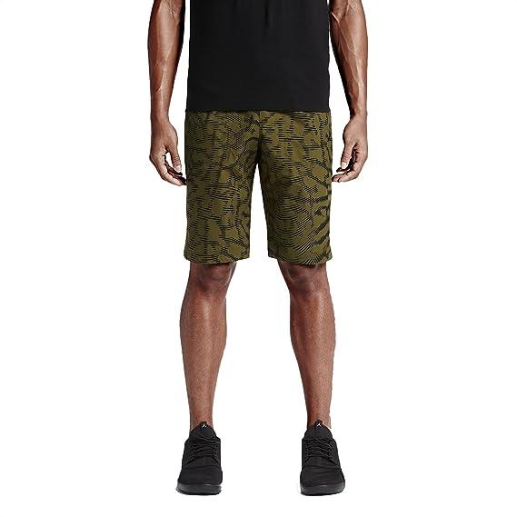 0f90a9e3862acc Jordan Printed City Men s Dark Green Black Como Shorts 818507-356 ...