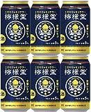 コカコーラ こだわりレモンサワー 檸檬堂 定番レモン 350ml×6本