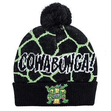 Amazon.com: Teenage Mutant Ninja Turtles – Cowabunga. Beanie ...