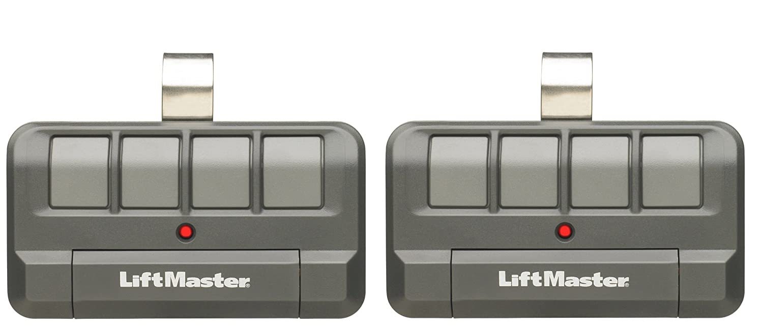 Lot of 2 LiftMaster 894LT 4-Button Security+ 2.0? Learning Remote Control CECOMINOD032581