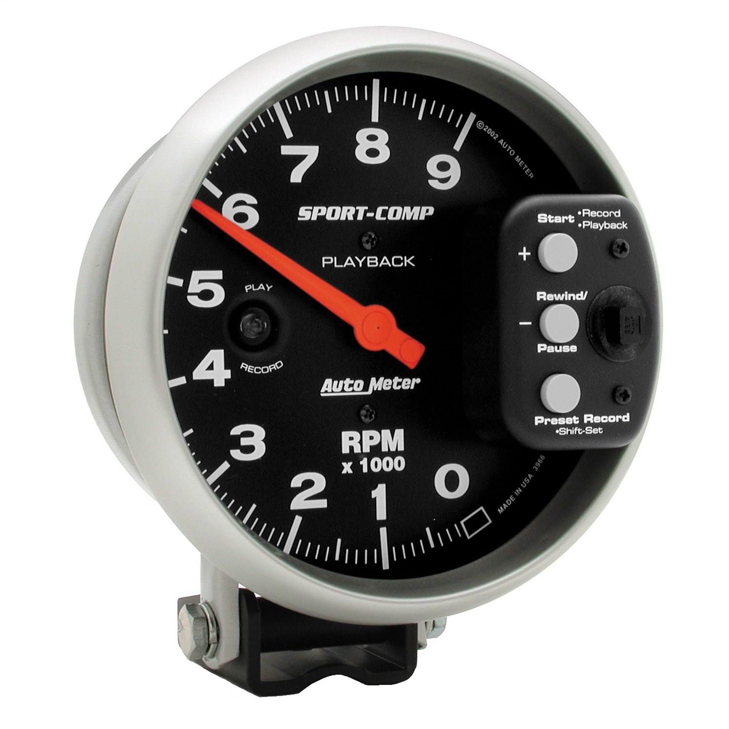 Auto Meter 3966 Sport-Comp Playback Tachometer by Auto Meter (Image #1)