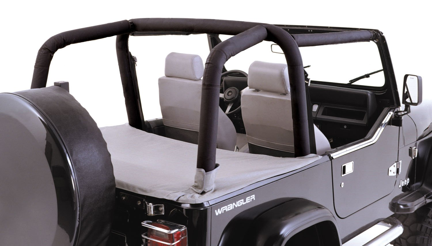 Outland 391361215 Full Roll Bar Cover Kit for Jeep TJ Wrangler