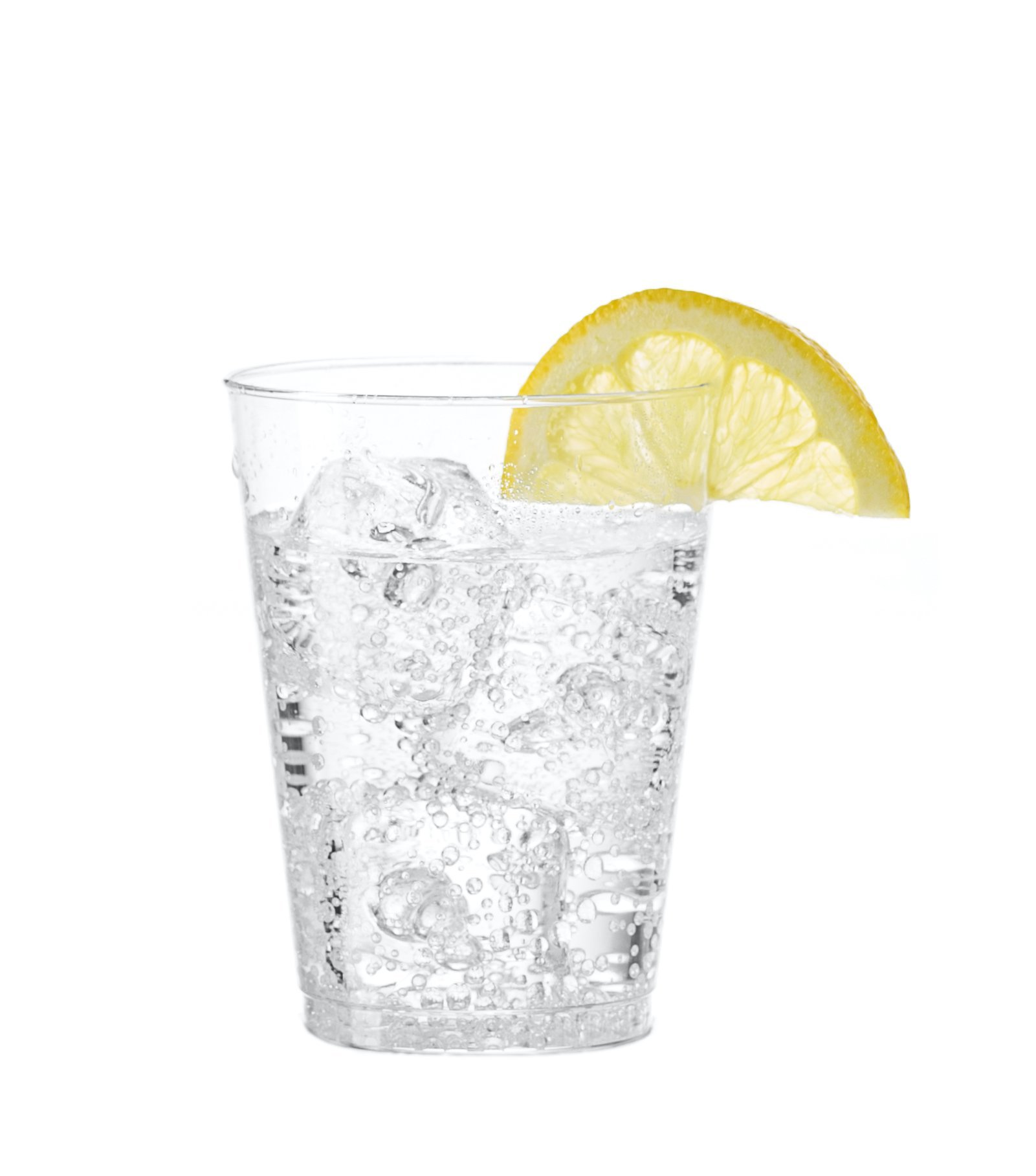 [200 Tumblers] Embellish Crystal Clear Disposable Hard Plastic 7 Oz Old Fashion Style, Fancy Cups, Great For Wine, Cocktail, Or Any Beverage, Wedding, Catering, Parties, Buffets, Events, 10 Packs by Embellish