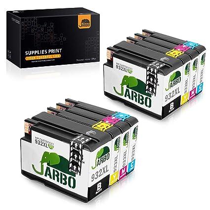 JARBO Cartuchos de tinta HP 932 933 de alto rendimiento Compatible ...