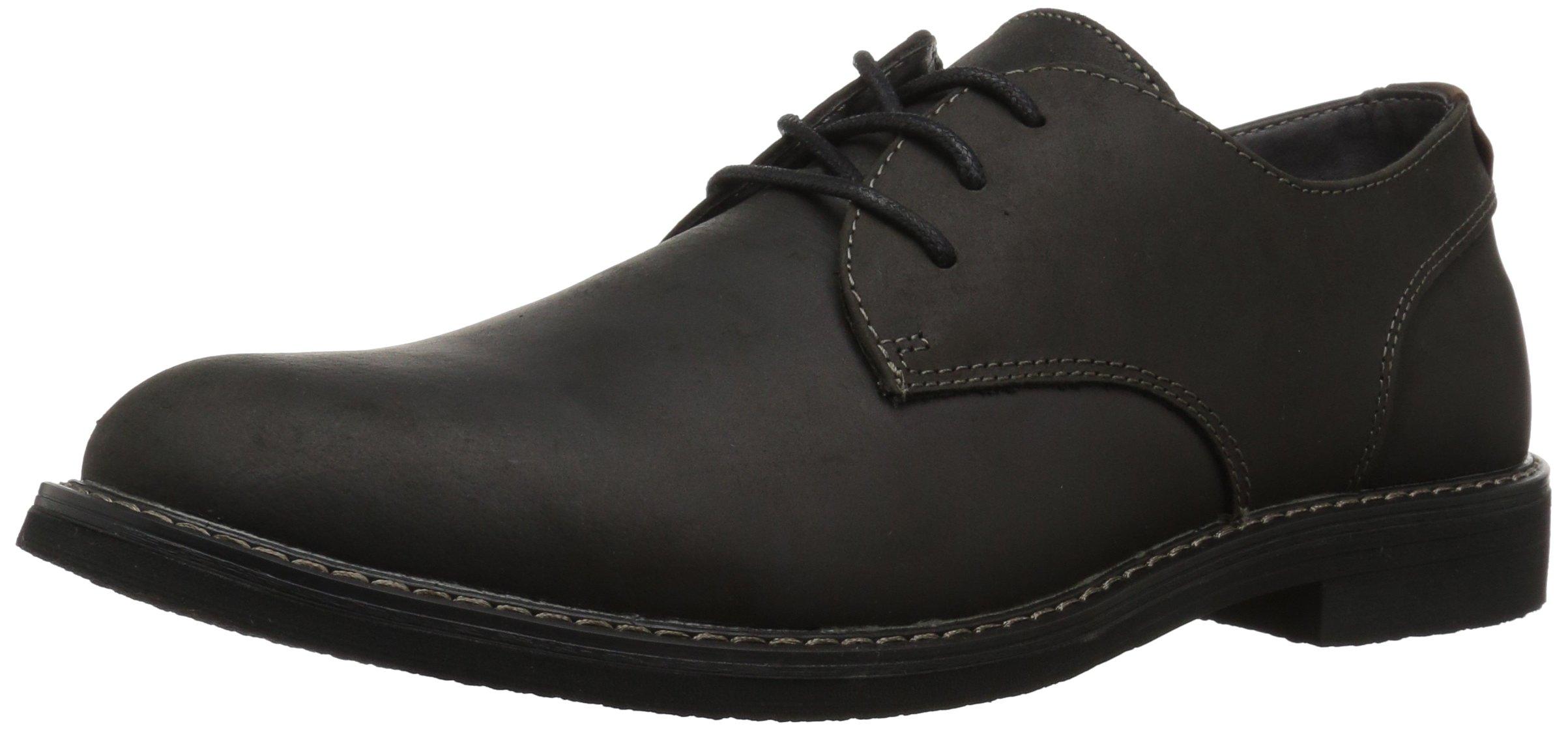 Nunn Bush Men's Linwood Plain Toe Oxford, Black, 9.5 W US