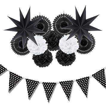 Amazon.com: Juego de 12 piezas para decoración de cumpleaños ...