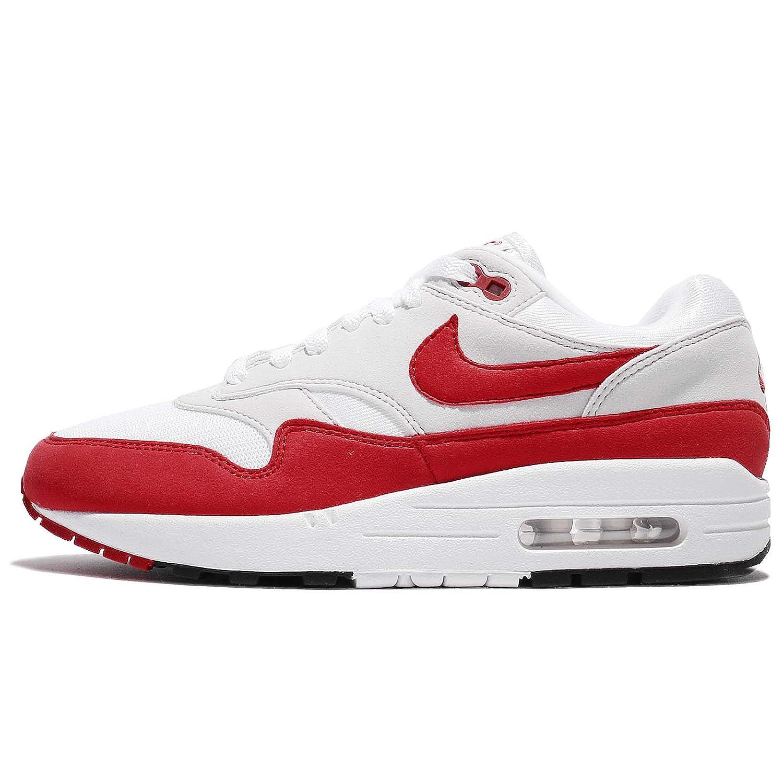 (ナイキ) エア マックス 1 アニバーサリー メンズ ランニング シューズ Nike Air Max 1 Anniversary 908375-103 [並行輸入品] B075XLBXXN 24.0 cm Wide White/University Red