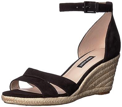 5303620585 Amazon.com | Nine West Women's Jabrina Suede Wedge Sandal ...