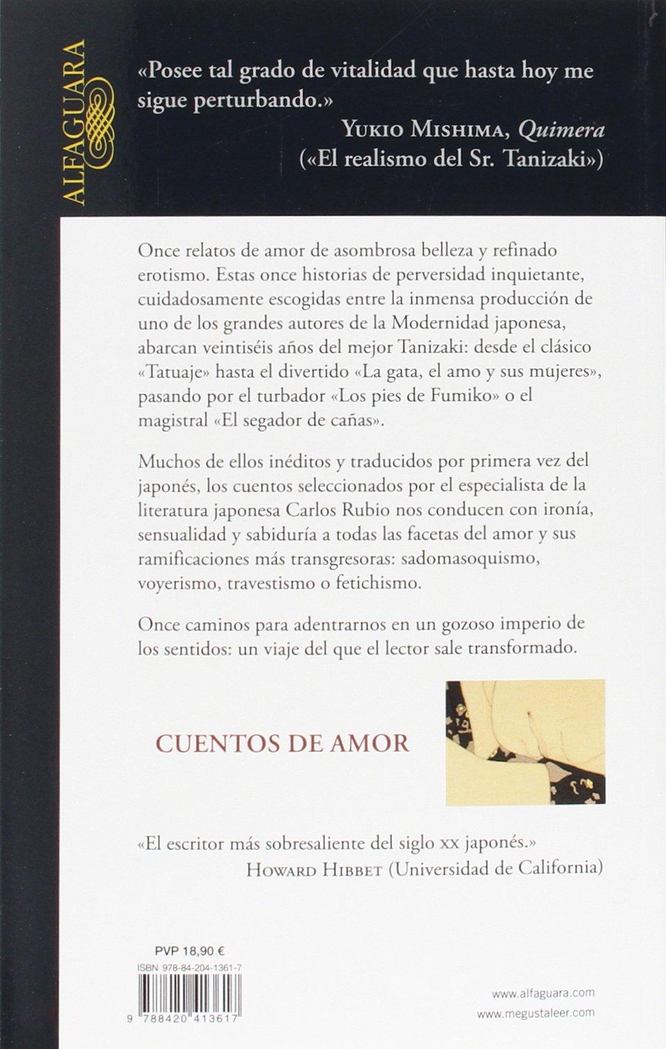 Cuentos de amor (LITERATURAS): Amazon.es: Tanizaki, Junichirô: Libros